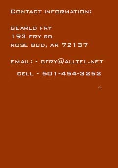 Contact Gearld Fry